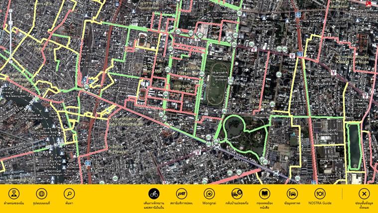NOSTRA Map Thailand ภาพหน้าจอ 4