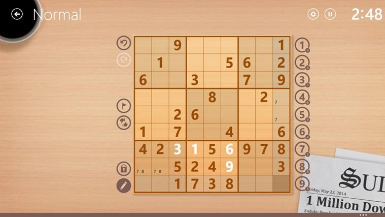 Sudoku Free screen shot 2