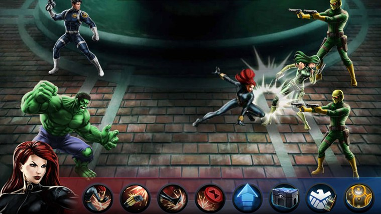 Avengers Alliance screen shot 4