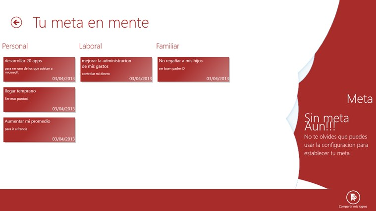 HABITOS EXITOSOS captura de pantalla 2