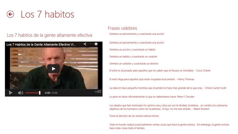 HABITOS EXITOSOS captura de pantalla 4