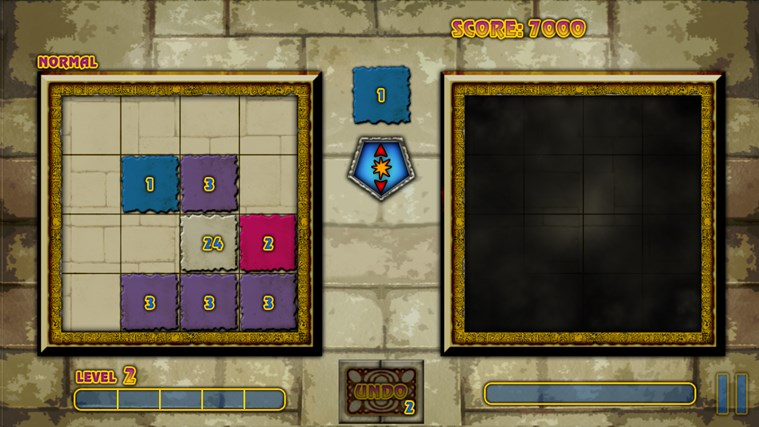 Mystical Threes screen shot 2