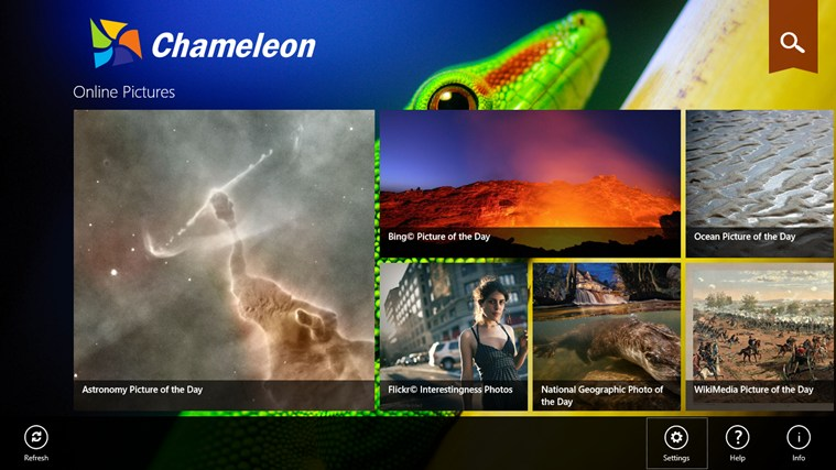 Chameleon screen shot 0