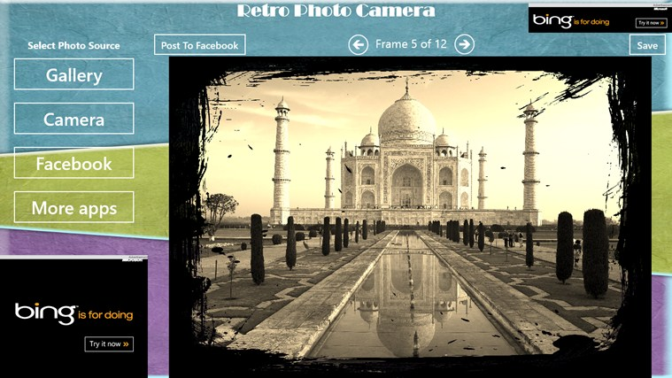 Retro Photo Camera petikan skrin 2