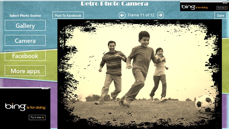 Retro Photo Camera petikan skrin 6