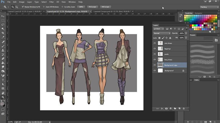 Adobe Photoshop Clothing Design Software Free Fashion Design Software