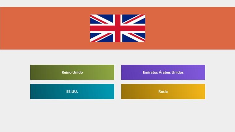 Adivina las banderas del mundo screen shot 0