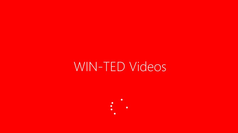 Windows TED Talks screen shot 0