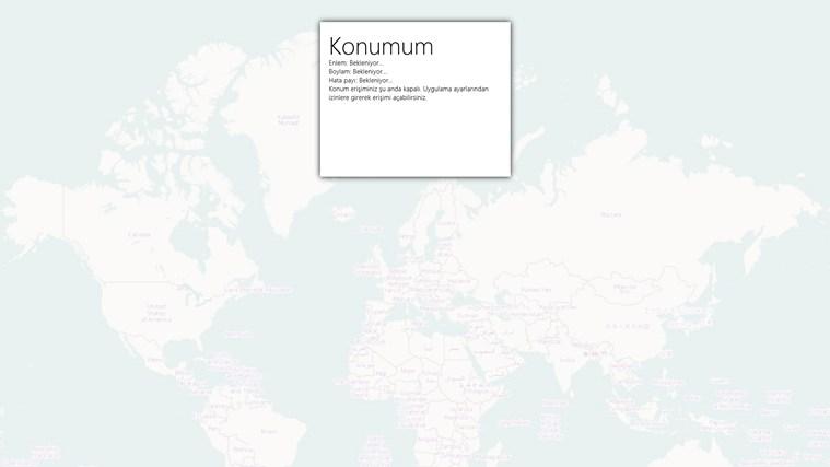 Konumum screen shot 0