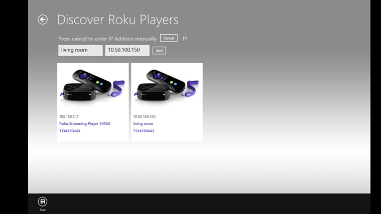 Remote for Roku Player screen shot 2