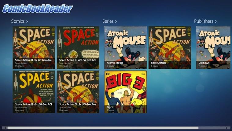 ComicBookReader cattura di schermata 0