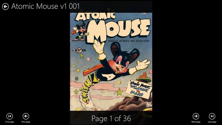ComicBookReader cattura di schermata 4