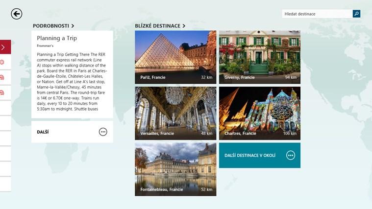 MSN Cestování snímek obrazovky 4