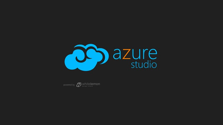 Azure Studio screen shot 0