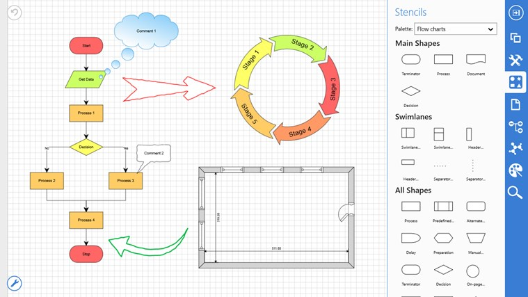 Grapholite Diagrams Pro screen shot 0