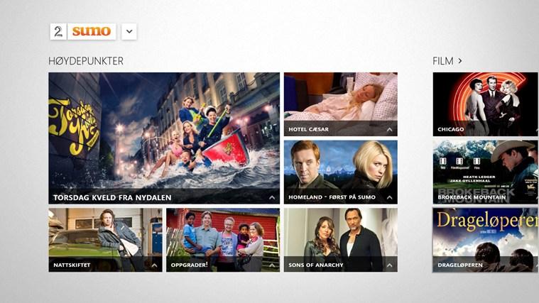TV 2 Sumo skjermbilde 0