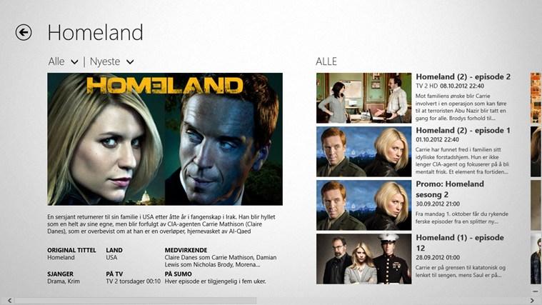 TV 2 Sumo skjermbilde 4