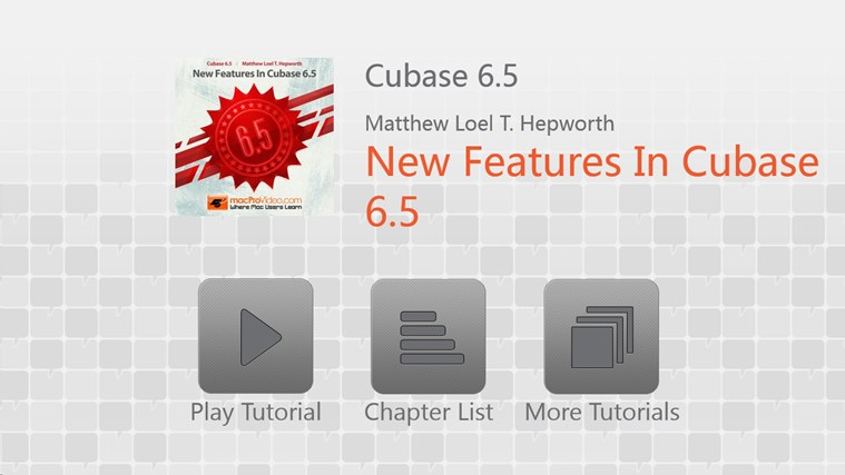 Cubase 6.5 - New Features In Cubase 6.5 لقطة شاشة 0