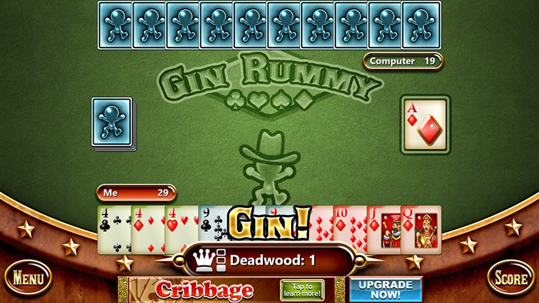 Gin rummy free app for windows in the windows store