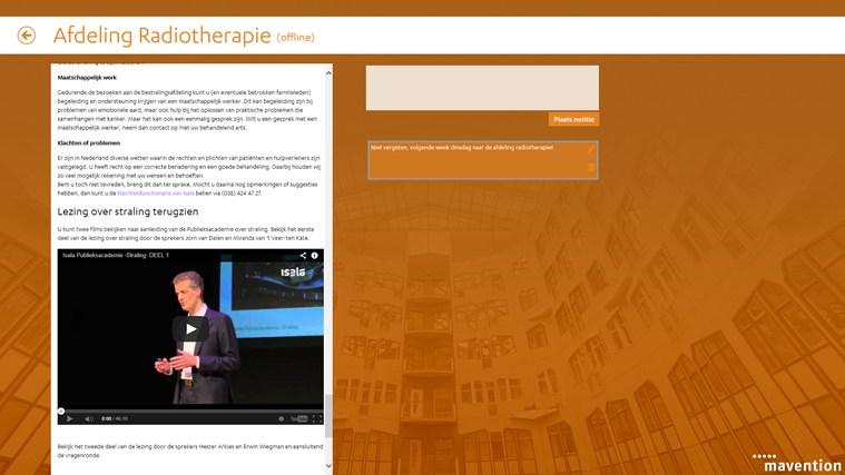 Isala folders schermafbeelding 2
