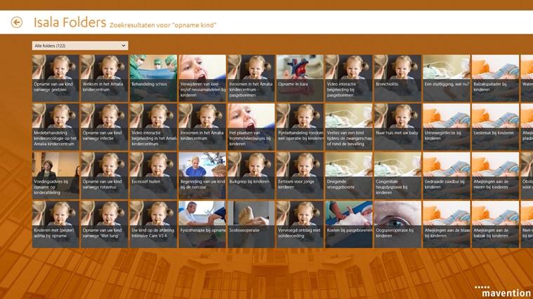 Isala folders schermafbeelding 4