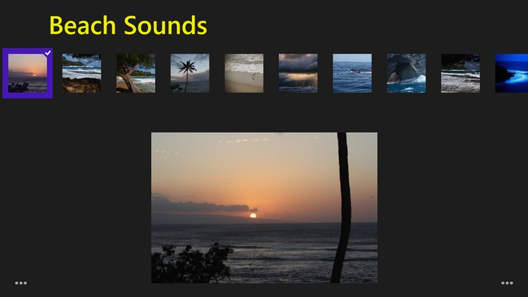 Beach Sounds screen shot 0