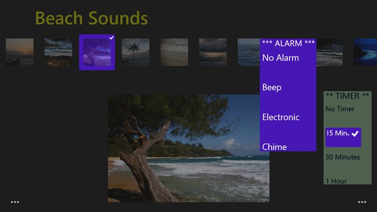 Beach Sounds screen shot 4