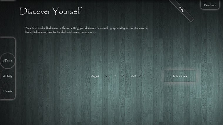 Discover Yourself screen shot 0