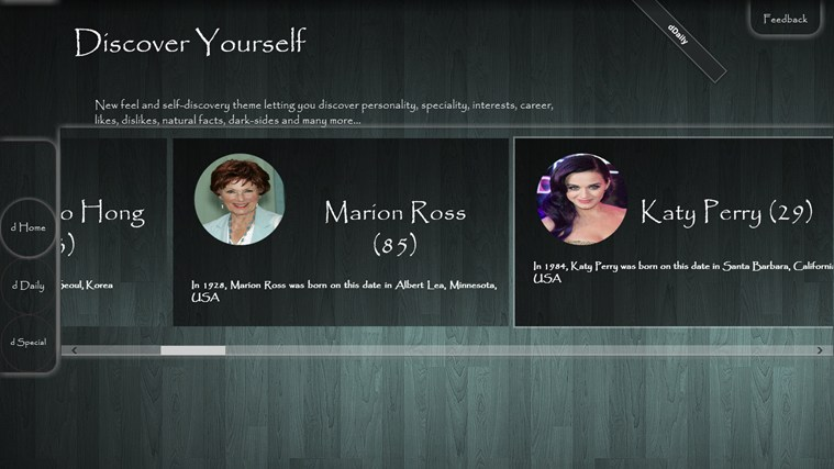 Discover Yourself screen shot 4