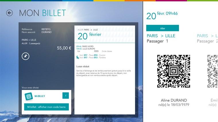 Voyages-SNCF capture d'écran 0