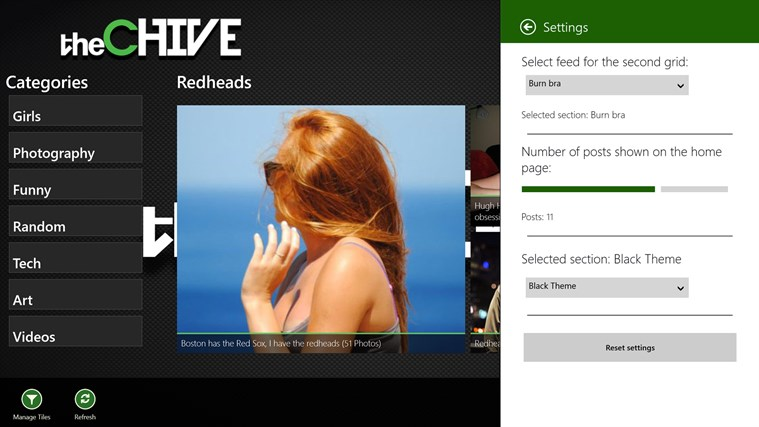 The Chive screen shot 2