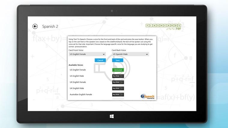 Flashcards Pro screen shot 6