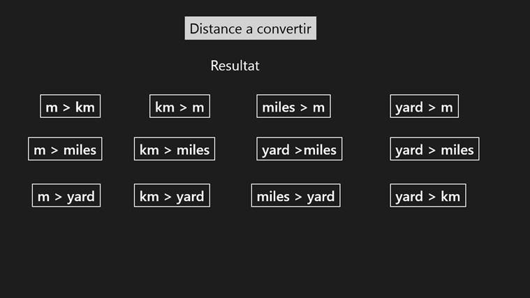 Convertisseur Distance screen shot 0