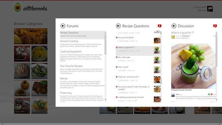Allthecooks Recipes screen shot 4