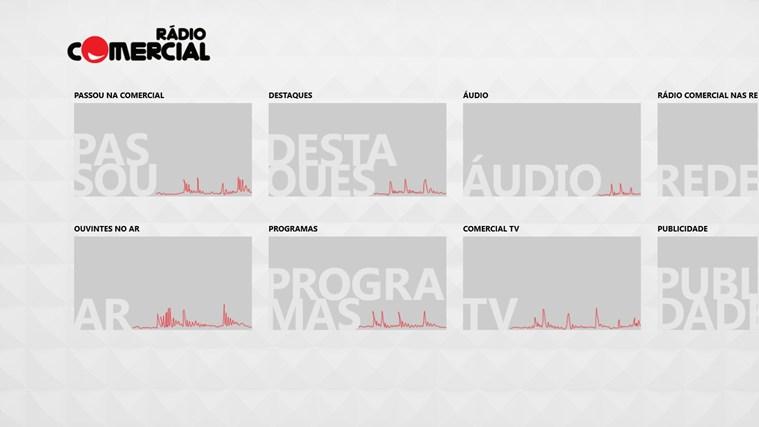 Rádio Comercial captura de ecrã 8