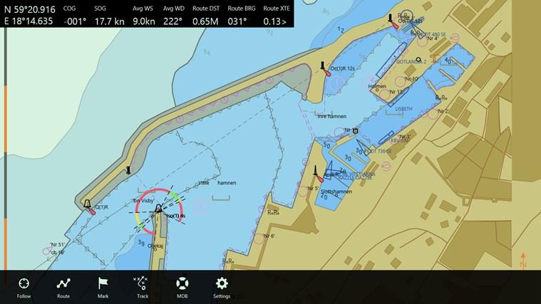 Seapilot-skärmbild 4