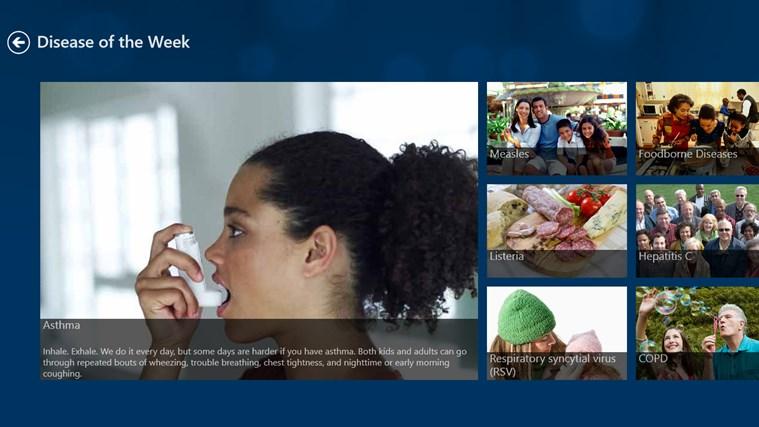 CDC screen shot 4