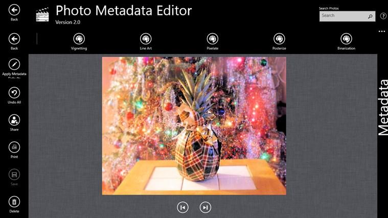 Photo Metadata Editor screenshot 4
