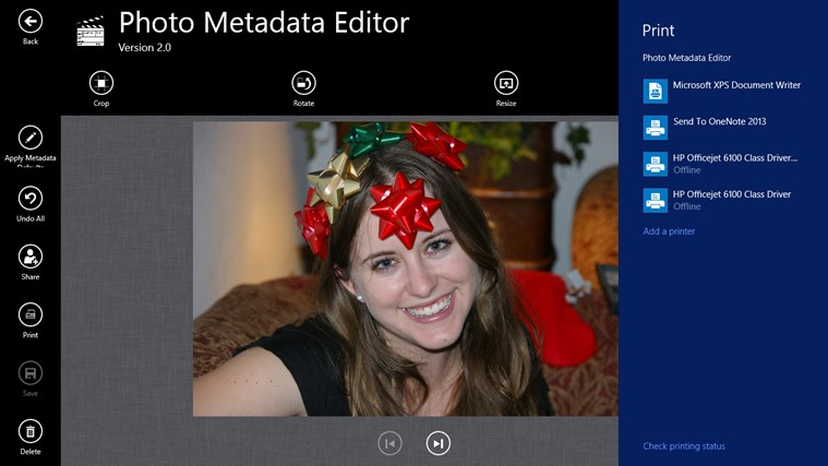 Photo Metadata Editor screenshot 6