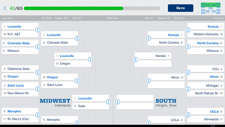 NCAA® March Madness® Live screen shot 6