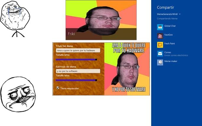 MemeGeneratorWin8 pantalla hapichiy 4