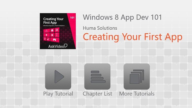 Create Your First Windows 8 App screen shot 0