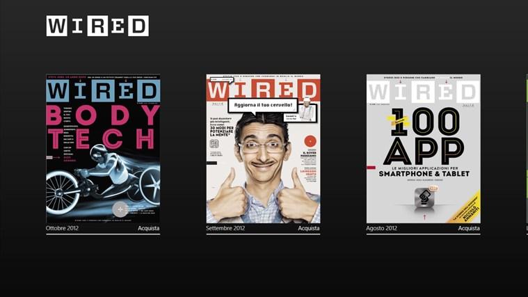 Wired cattura di schermata 0