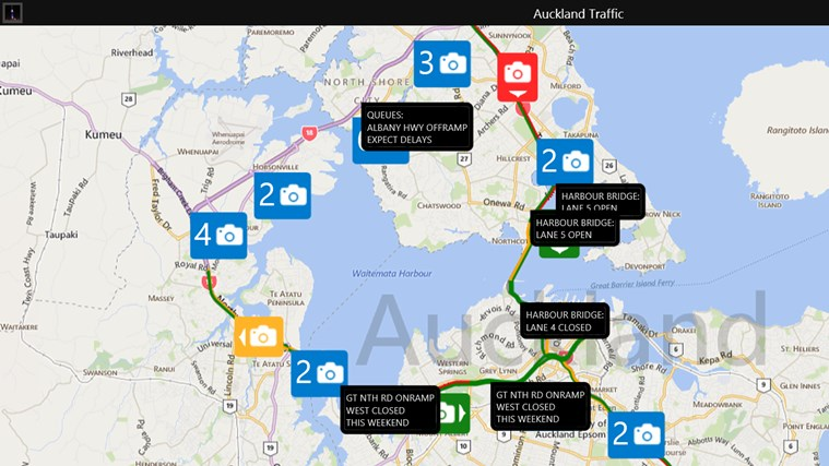 Auckland Traffic screen shot 0