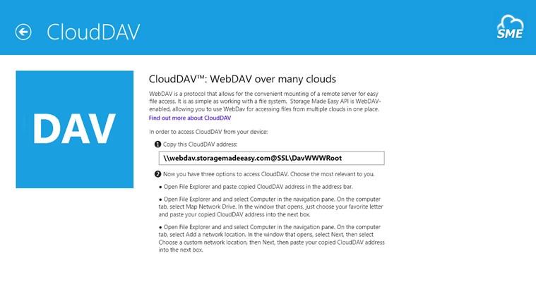 Cloud File Explorer screen shot 0