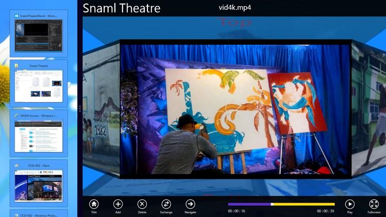 Snaml Theatre: знімок екрана 2