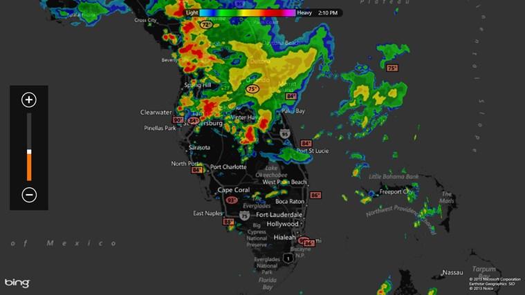 MyRadar Weather Radar screen shot 2