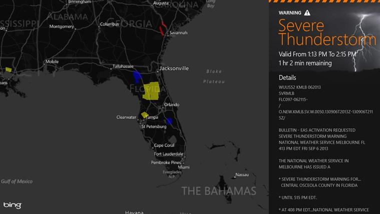MyRadar Weather Radar screen shot 6
