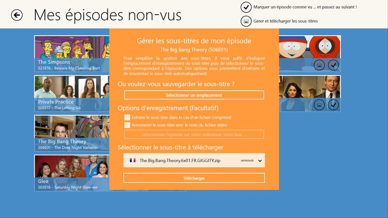 Mes Séries TV screen shot 4