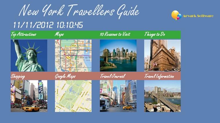New York Traveller full screenshot